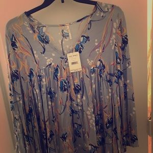Blue free people top brand new